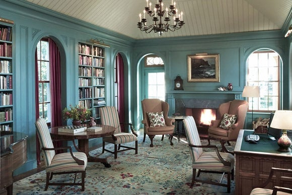 eclectic-traditional-office-and-study-penobscot-bay-me-by-jayne-design-studio