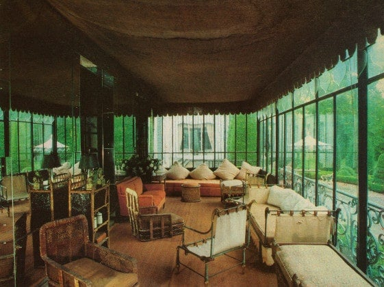 The Sunroom At De Wolfe S Versailles Residence Villa Trianon