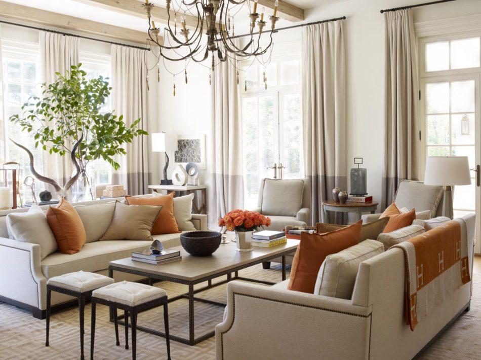 Suzanne Kasler living room