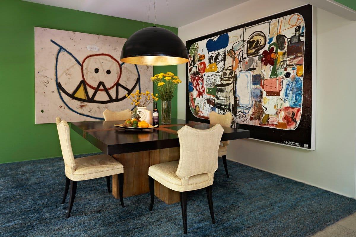 Kishani Perera Hollywood Hills dining room