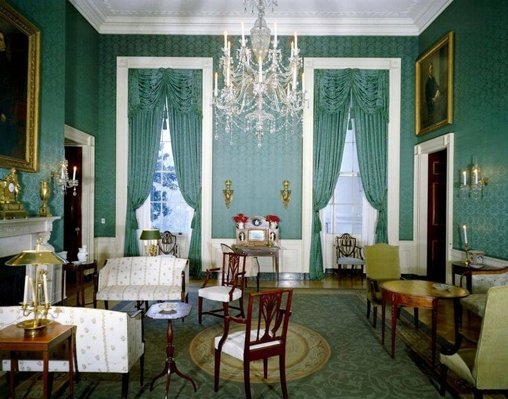 Secretary Of Estate Jackie Kennedy S White House Overhaul