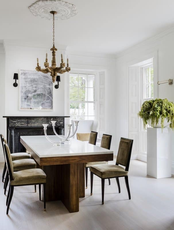 dining room by Lisa Tharp Design