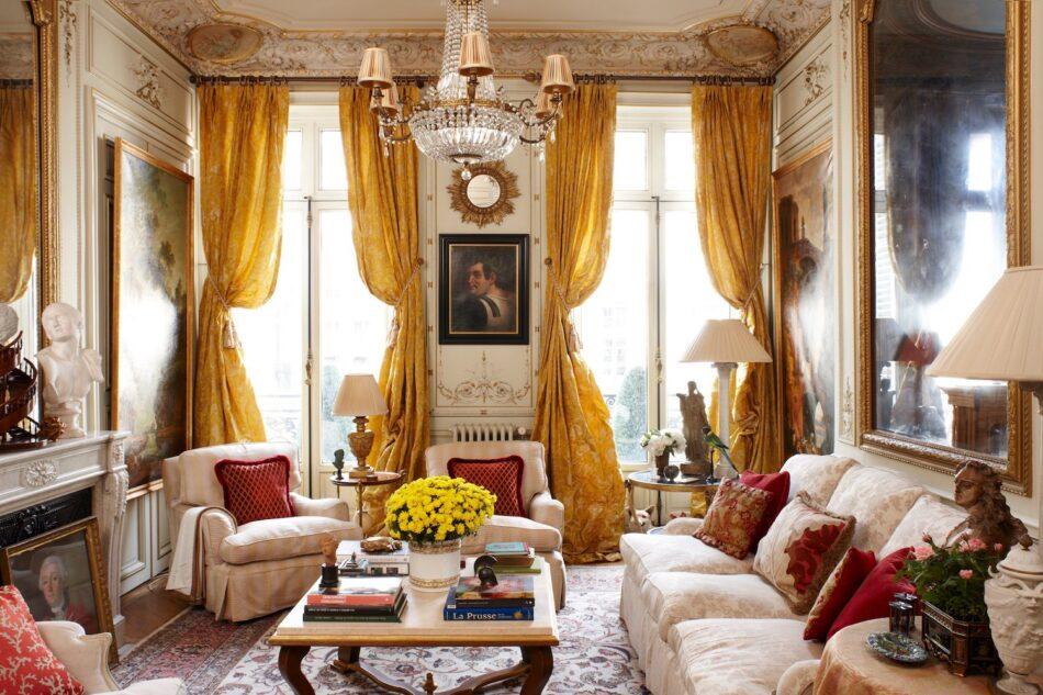 Timothy Corrigan living room