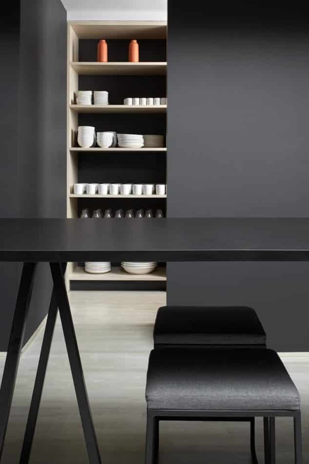 Kitchen in Square Inc.'s NYC office by Magdalena Keck