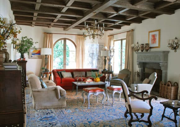 Mediterranean Traditional Living Room Santa Monica Ca By