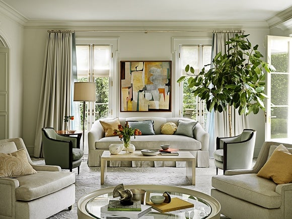 Modern Living Room Beverly Hills California By Barbara