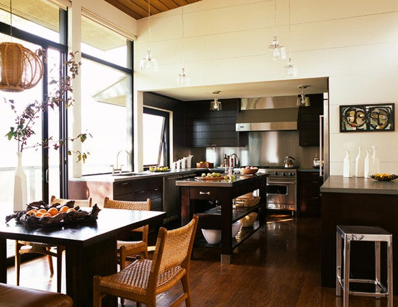 15 eye opening breakfast nooks the study for Kitchen jackson hole