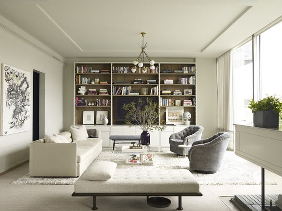 16 pristine white rooms | the study