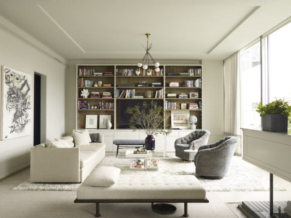 April 39 s 10 most popular rooms from instagram the study for New york style interior
