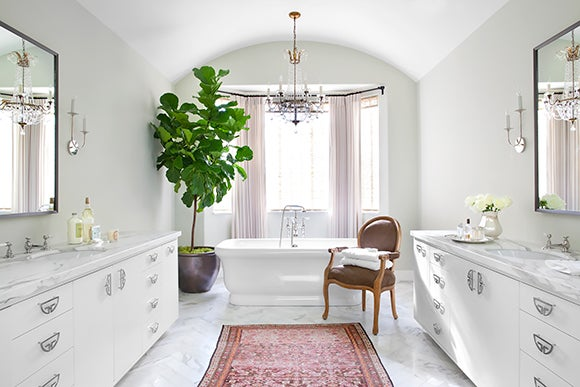 preppy traditional bathroom beverly hills ca by burnham - Beautiful Bathrooms
