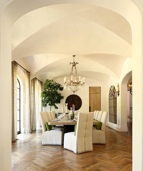 Rustic Traditional Dining Room Los Angeles Ca By