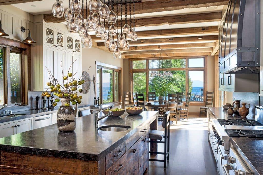 Lake Tahoe Kitchen By Jeff Andrews