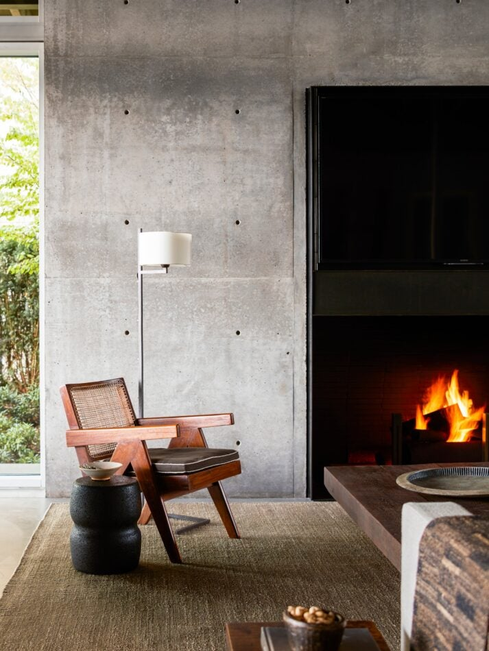 living room fireplace by Kylee Shintaffer