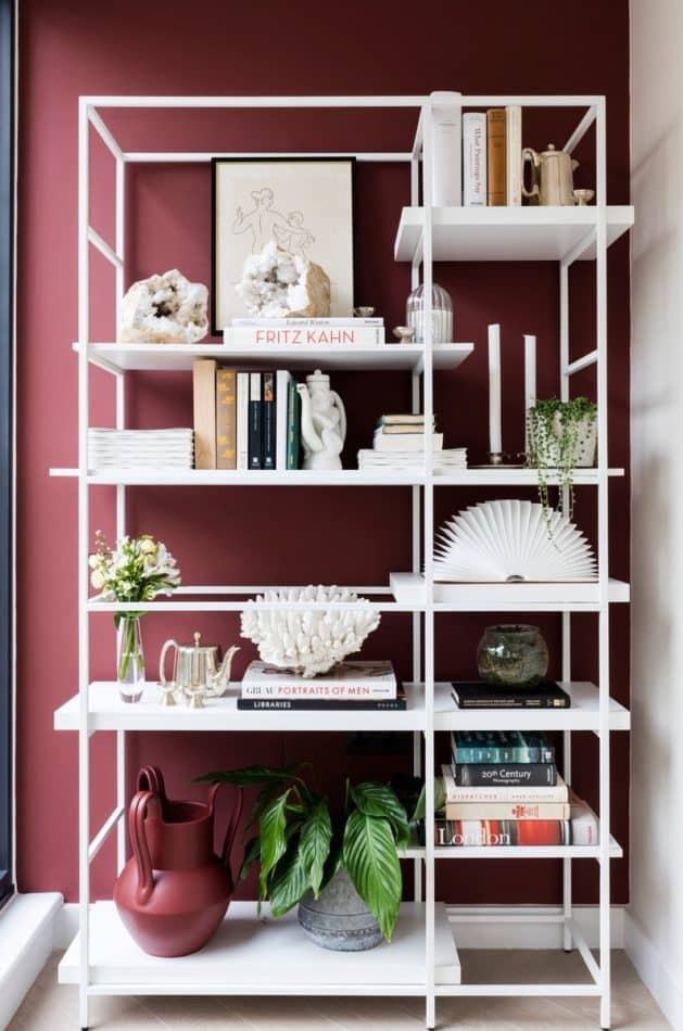 London mews house shelving by Studio Ashby