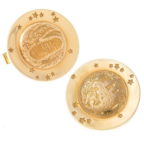 Tiffany and Co. Moon Walk cufflinks, 1969