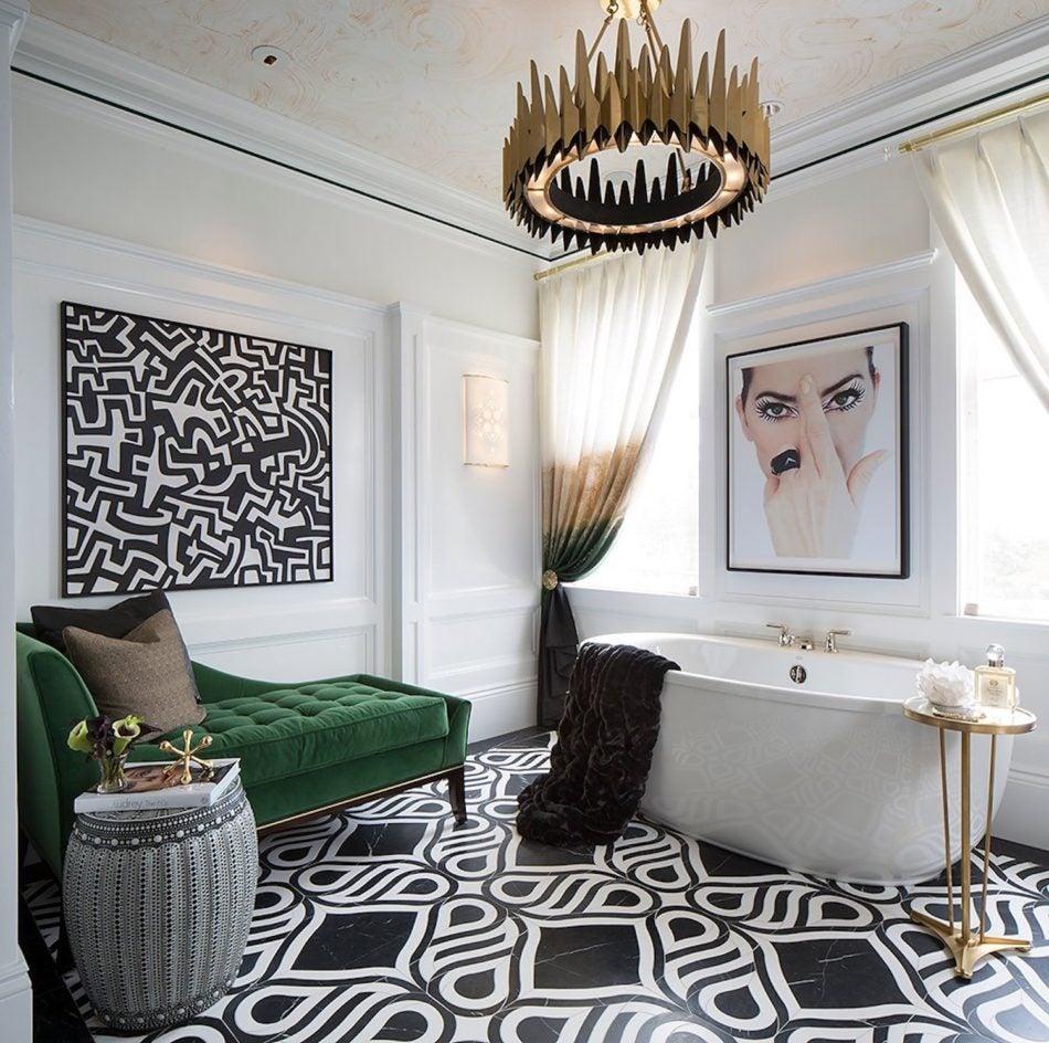 Tineke Triggs, Artistic Designs For Living bathroom in San Francisco