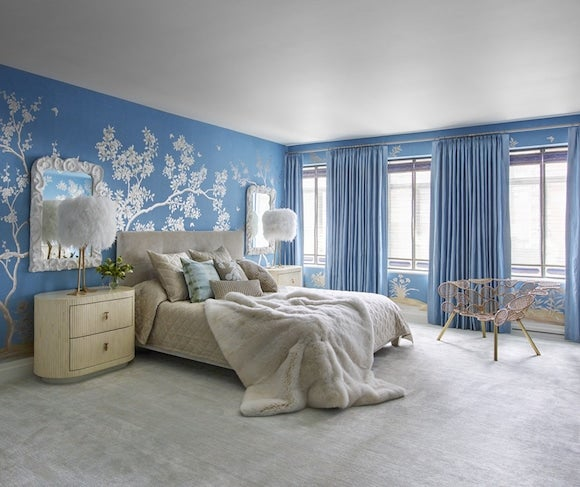 Blue And White Room 28 enchanting blue and white rooms | 1stdibs