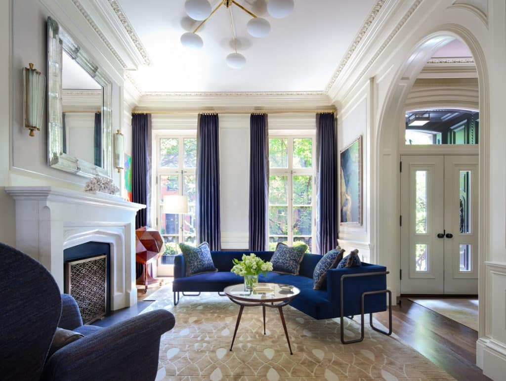 21 incredible new york city townhouses the study Interior design firms in new york city