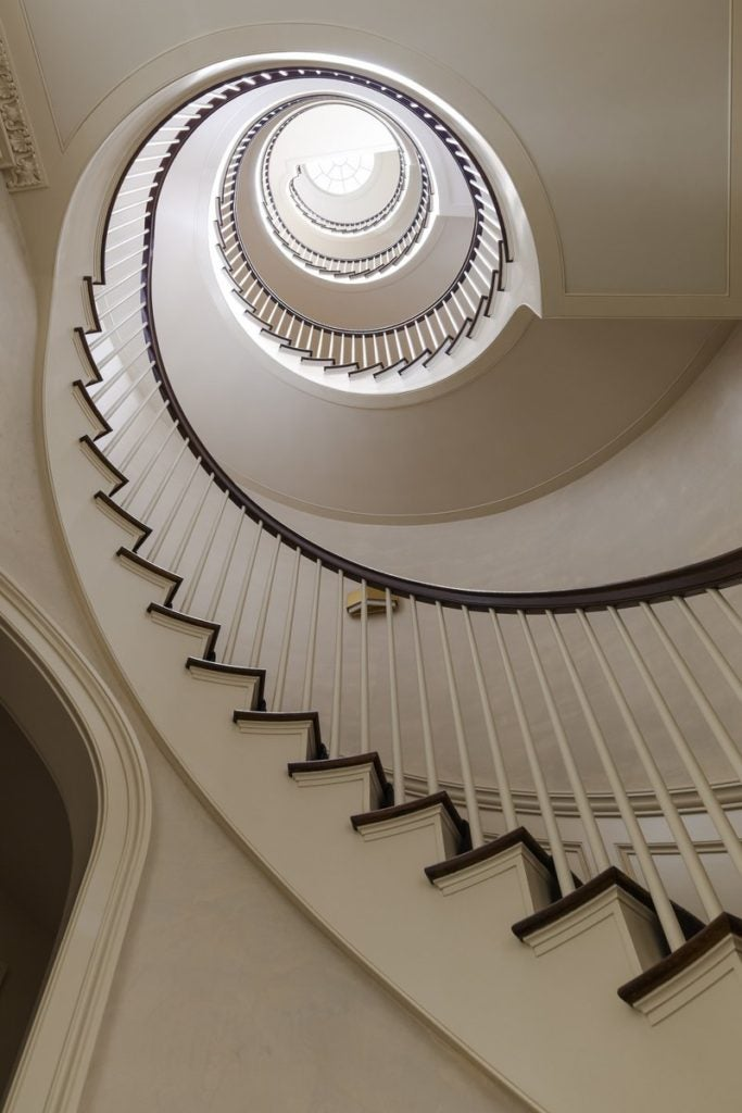 The Seemingly Infinite Upward Spiral Of The Homeu0027s Staircase Is Central To  His ...