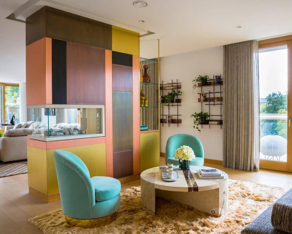 Carden Cunietti Kensington living room