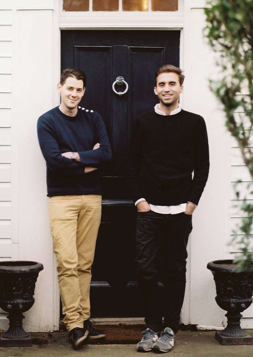 Ari Heckman (left), ASH's CEO, and Will Cooper, the creative director, in Sag Harbor (photo by Patrick Cline).
