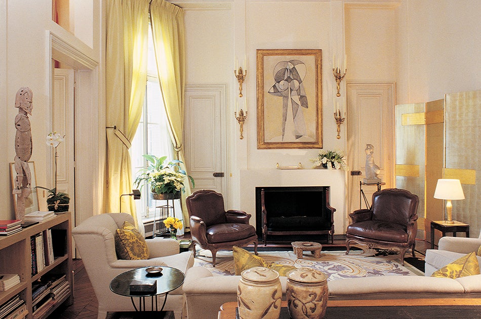 Jacques grange interior design 39 s french connection - Living room interior decors ...