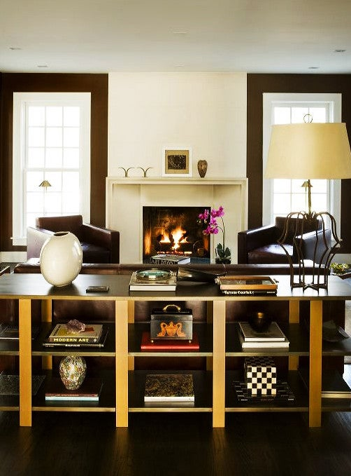 In A Potomac Maryland House The Cuban Born Washington D C Based Designer Nestor Santa Cruz Curated Eclecticism And Understated Chic