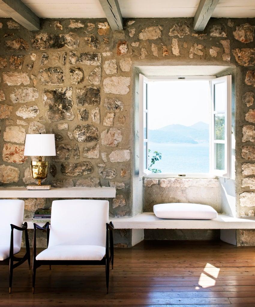holiday home in a restored 15th-century building in Croatia