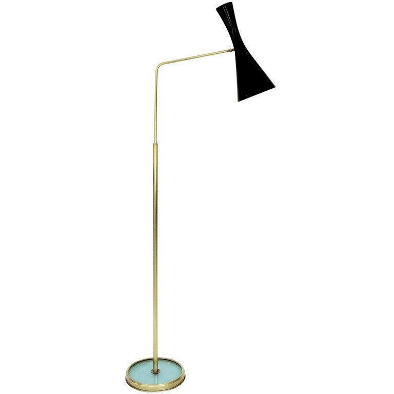 Italian Floor Lamp by Fontana Arte