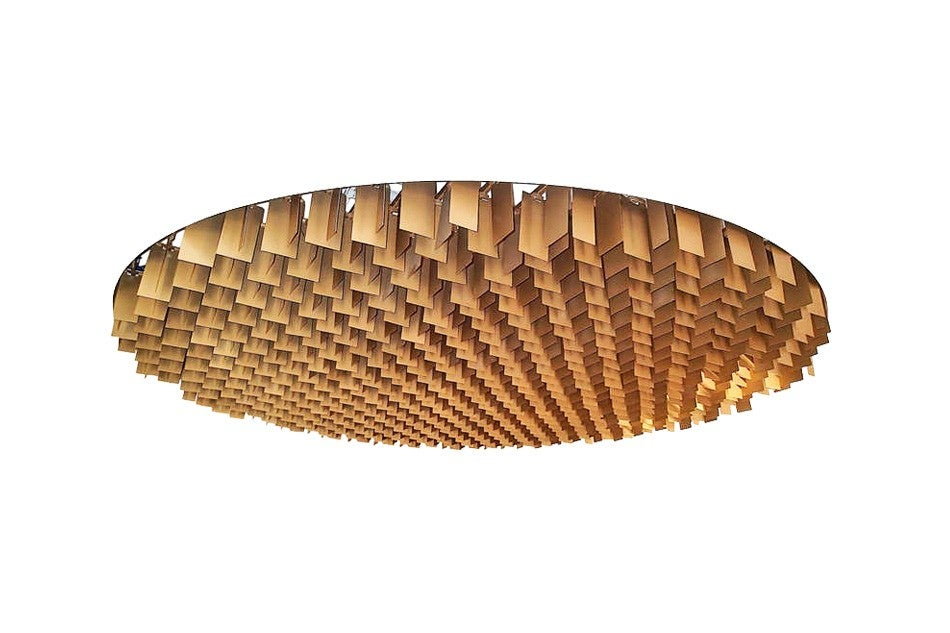 Fantastic ceiling Light used by Oscar Niemeyer