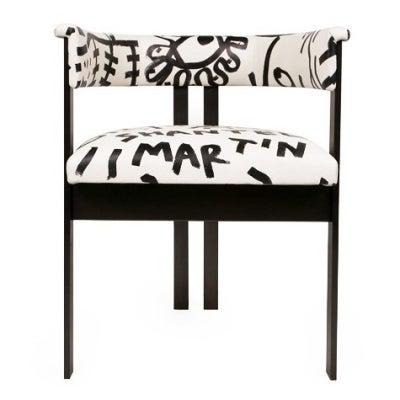 Elliott Chair by Shantell Martin for Kelly Wearstler