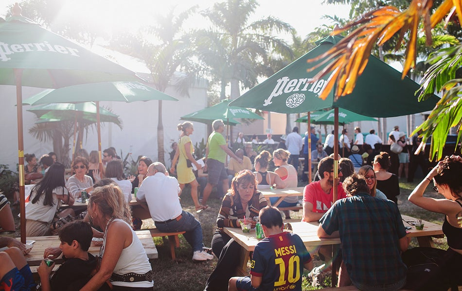 Miami Project - Beer Garden