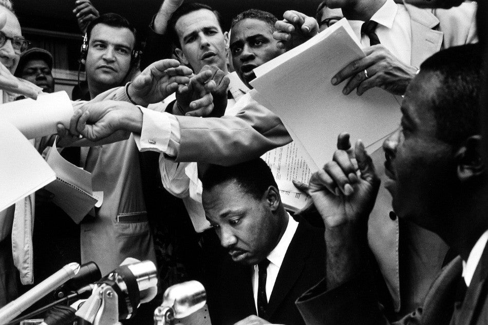 Bruce Davidson, Time of Change, 1962, offered by Howard Greenberg Gallery