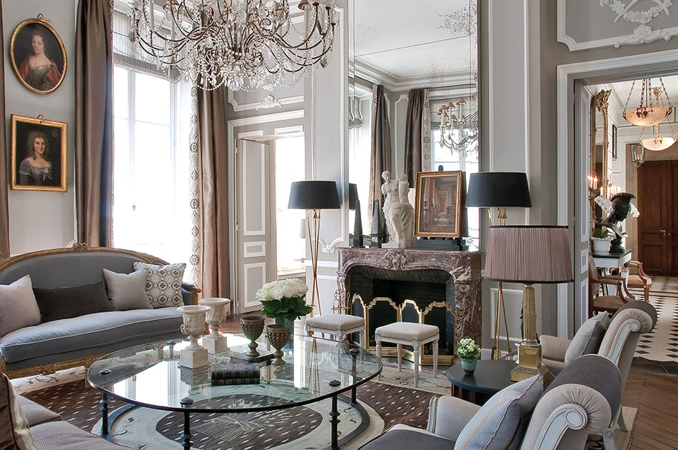 Jean louis deniot interiors book and design for Chic interior design ideas for homes