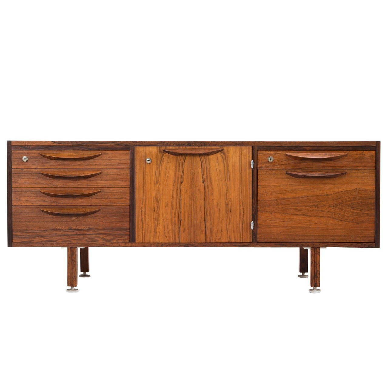 Rosewood Sideboard by Jens Risom, Denmark
