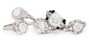 Fred Leighton Diamond Rings
