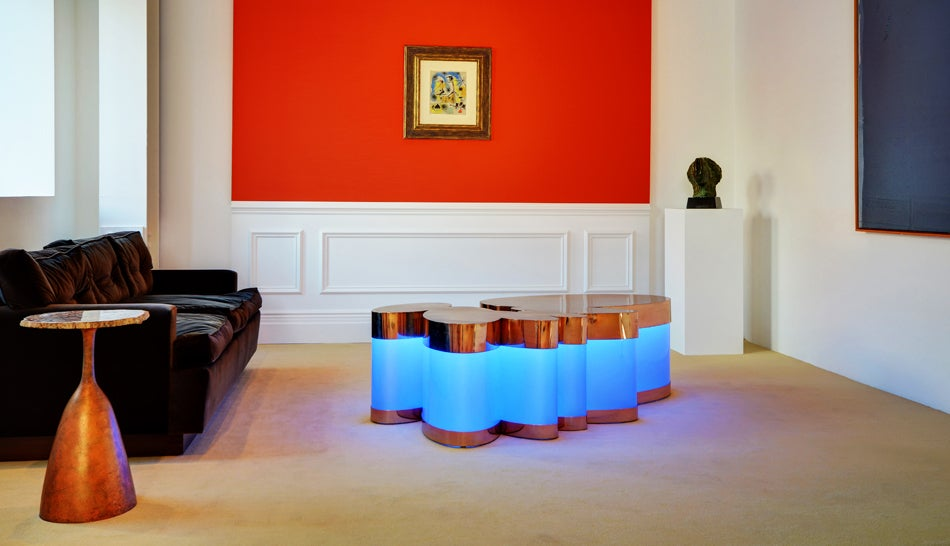 Henri Samuel Cloud Table Installation