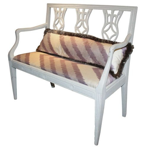 Italian painted bench