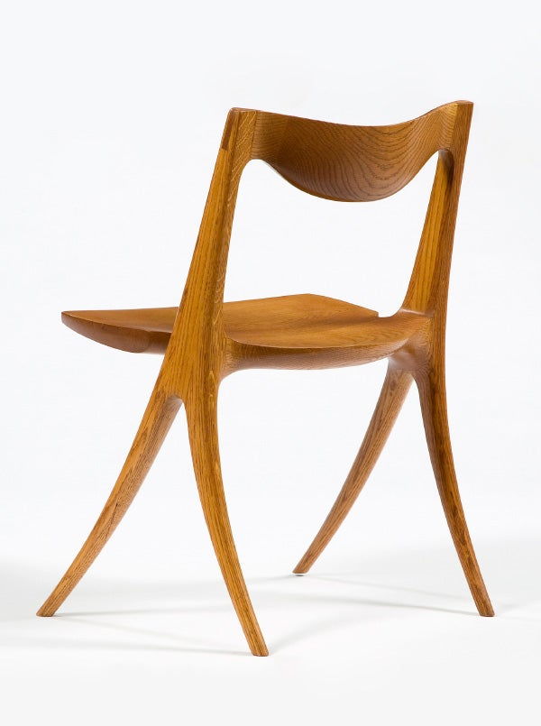 Beautiful Wendell Castleu0027s Sculptural Approach To Furniture Design Is Evident In The  Sinuous Form Of His 1968