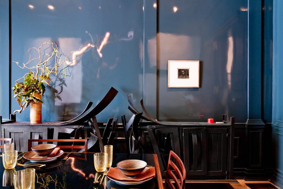 Kristen McGinnis's dining parlor