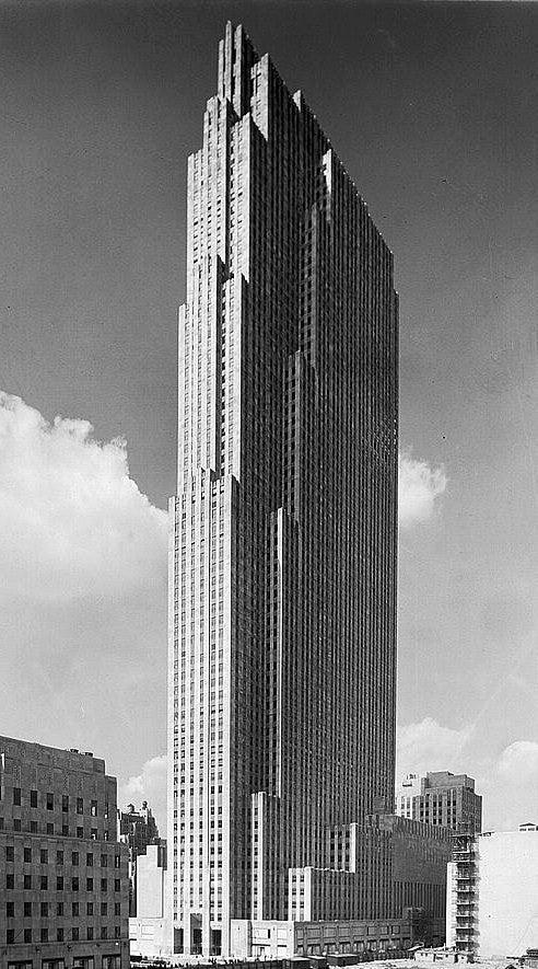 30 Rock Construction 1933