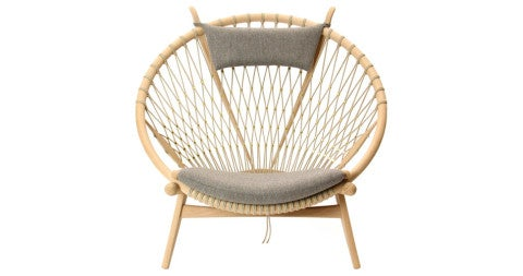 Hans J. Wegner Circle chair, 1965, offered by WYETH
