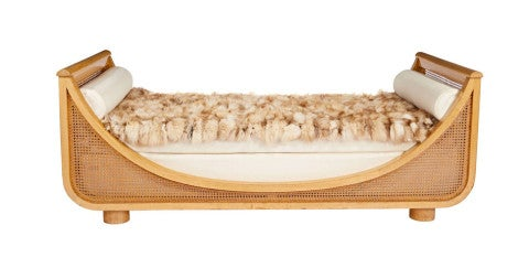 Jean Royère Gondola daybed, 20th century, offered by Galerie XX