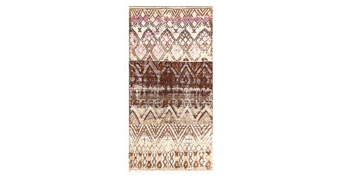 Moroccan Pile Carpet, mid-20th century, offered by Wright Now