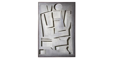 <i>Grey Man</i>, 1970s, by Tristan Meinecke, offered by Douglas Rosin Decorative Arts & Antiques