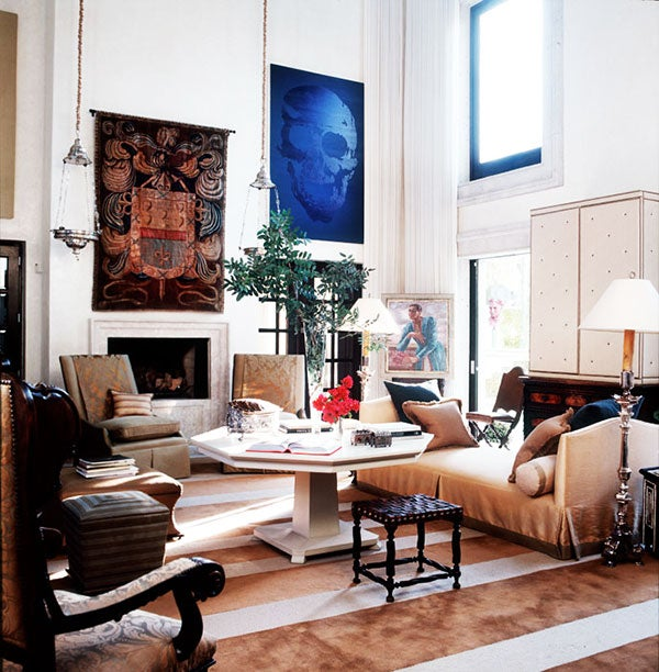A house designed by Ray Booth in Mexico's San Miguel de Allende, which appeared in Elle Decor in 2009, is just one of the memorable interiors William Waldron has photographed during his distinguished career.