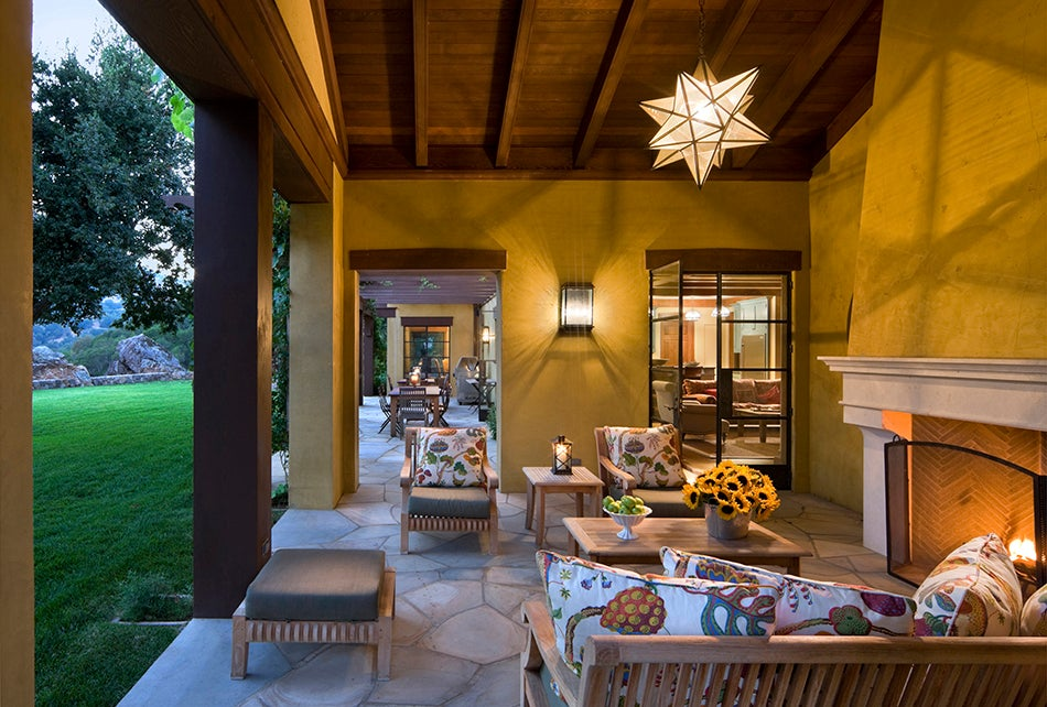 Per the clients request, a Napa Valley house by Roger Seifter channels Provence's Luberon region even as it incorporates the vernacular adobe and Mission Revival styles of California.