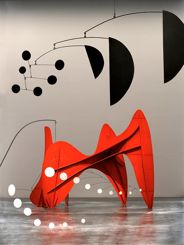 Alexander Calder Exhibition At Lacma