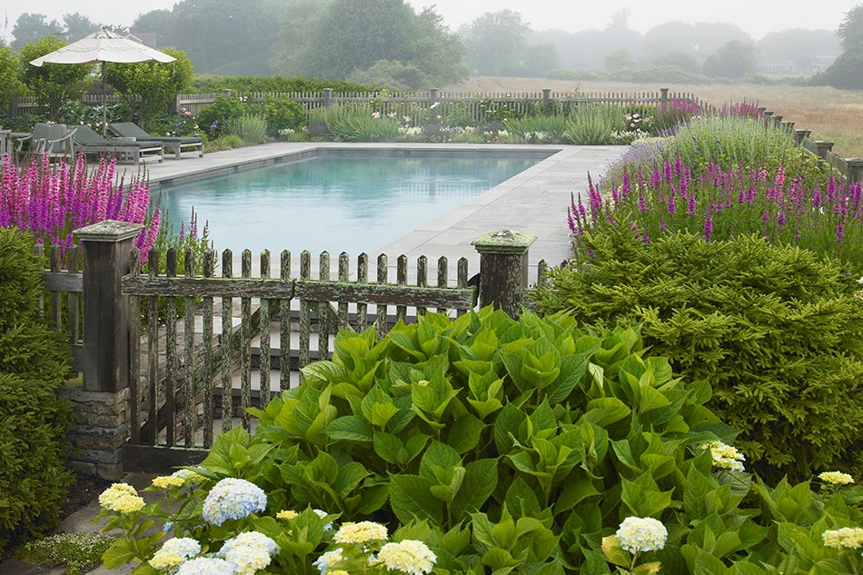 Good earth 1stdibs introspective - Rustic wood fences a pastoral atmosphere ...