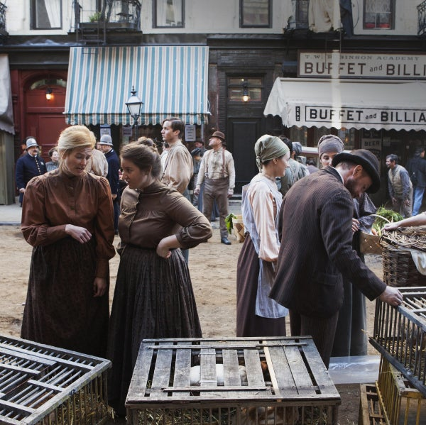 "An unusually large amount of The Knick was filmed on location, including on the Lower East Side of Manhattan, which was completely transformed to look as it did 114 years ago, a process that entailed getting rare permission from the city to ""dirt"" the streets."